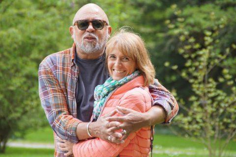 Wilbert Delfino Eberl und Birgit Sterzl